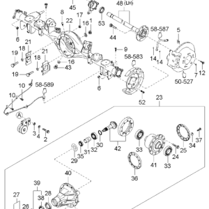 KIA 527003E471 RING-SENSOR. RR ABS | English: ABS RING
