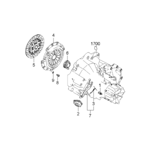 KIA 0K95416410B DRUKGROEP 1.8 | English: PRESSURE PLATE