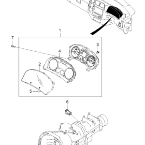 KIA 964204A600 SPEED SENSOR | English: VEHICLE SPEED SENSOR
