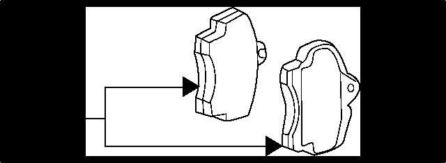 KIA 0K9A02628Z REMBLOKSET RR | English: BRAKE PADS