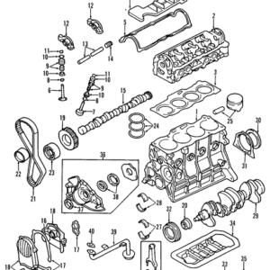 KIA 0K97210235A PAKKING | English: VALVE COVER GASKET