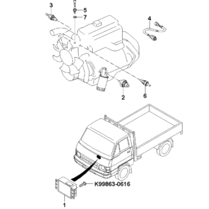 KIA 0PN1118840 THERMO SWITCH