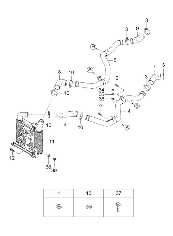 Kia Hyundai 1540710203 BOLT-EYE