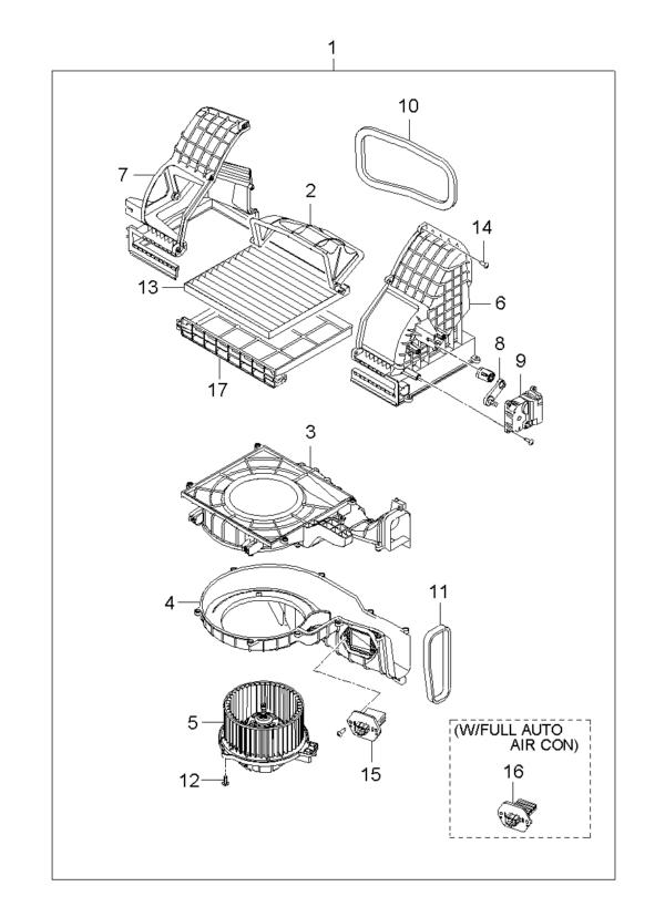 Kia Hyundai 971791F200 TRANSISTOR-POWER
