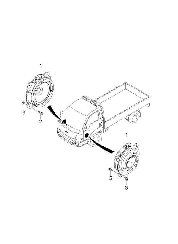 Kia Hyundai 1491005000 GROMMET-SCREW