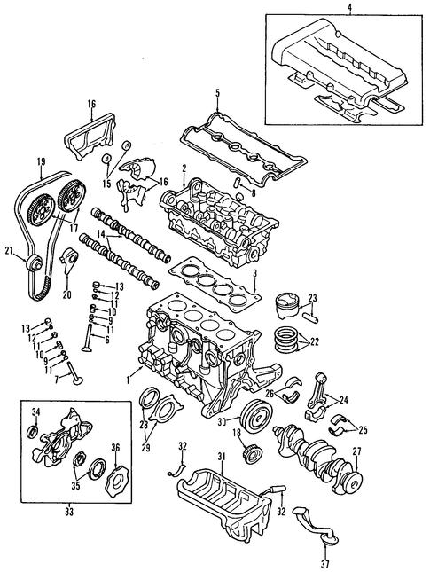 Kia Hyundai 223112X200 GASKET CYLINDER HEAD